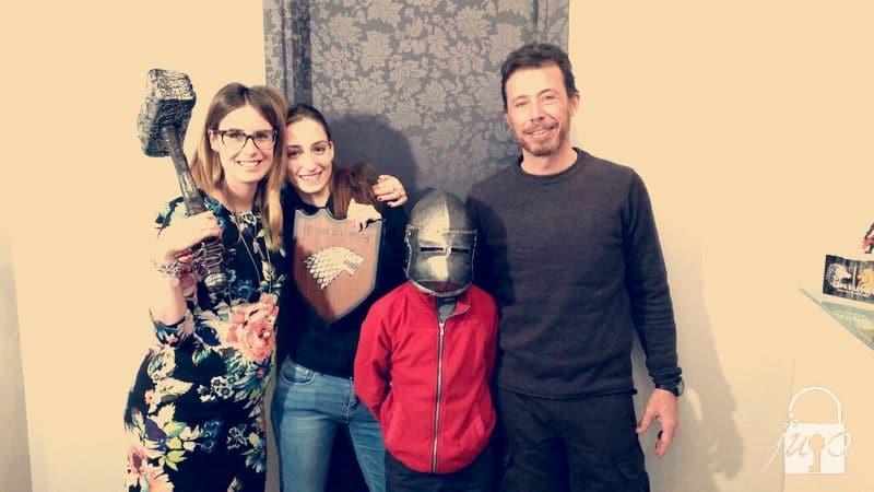 Famiglia in vacanza - Escape Room Trento FUGA