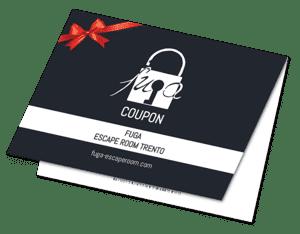 Coupon Fuga - Escape Room Trento